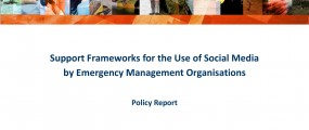 Cover - Support Frameworks for the Use of Social Media